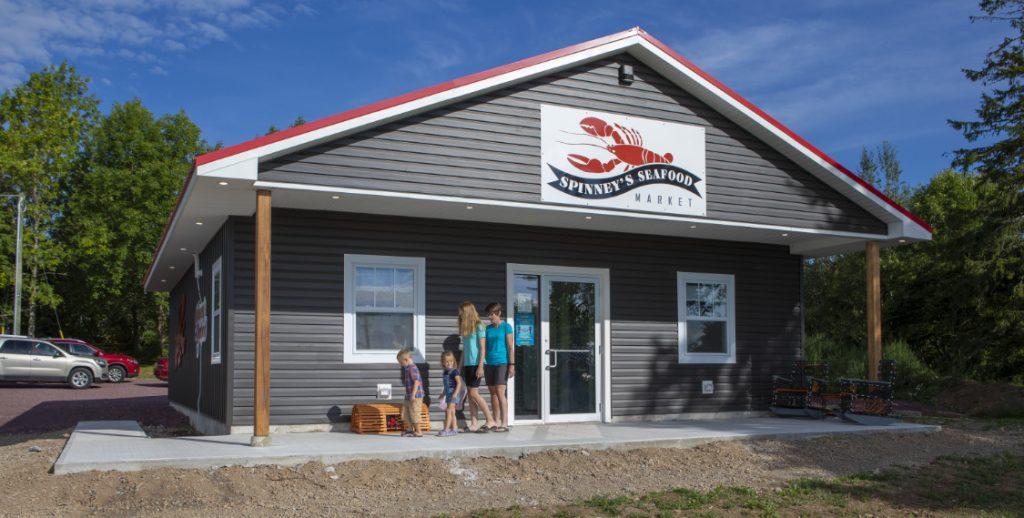La poissonnerie Spinney's, le plus récent magasin de produits de la mer à St. Martins