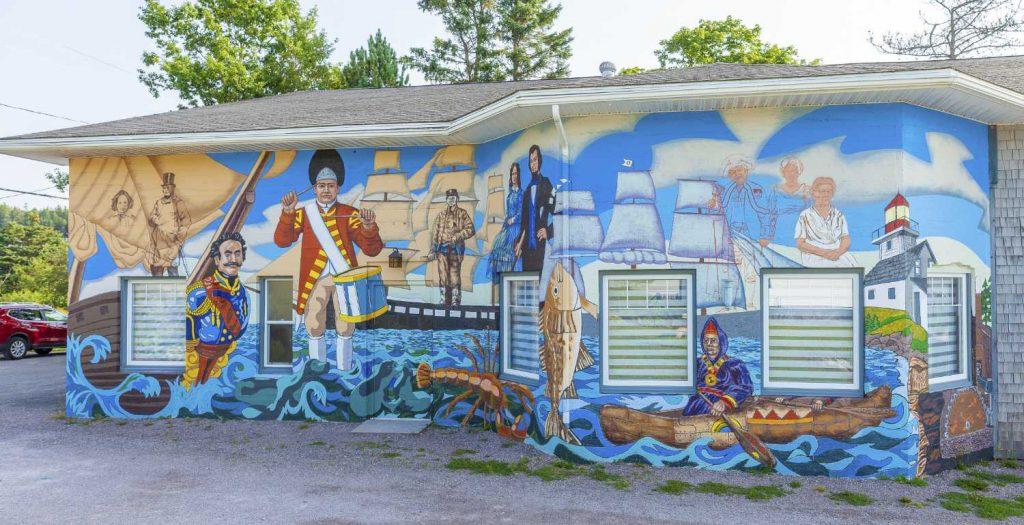 Quaco Museum mural